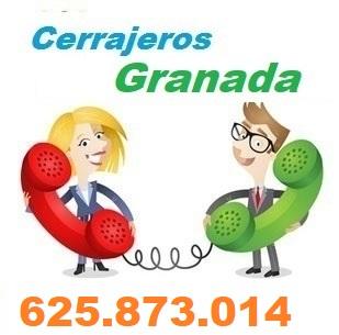 Telefono de la empresa cerrajeros Granada